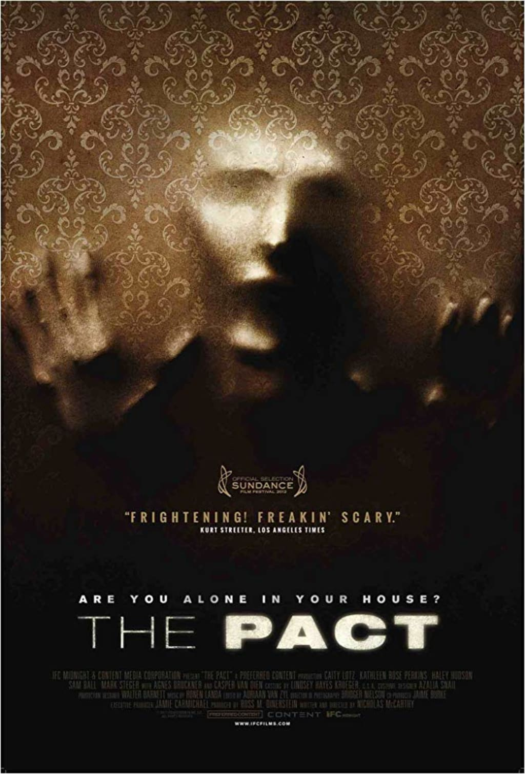 Reed Alexander's Horror Review of 'The Pact' (2012)