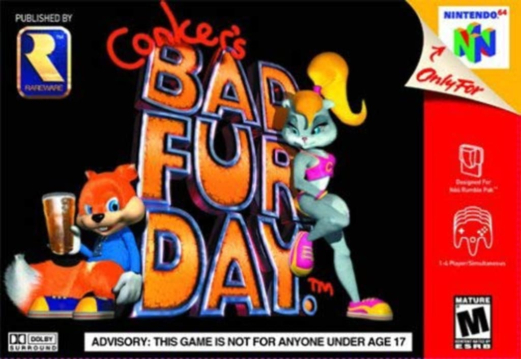 'Conker's Bad Fur Day' - A Game Like No Other!
