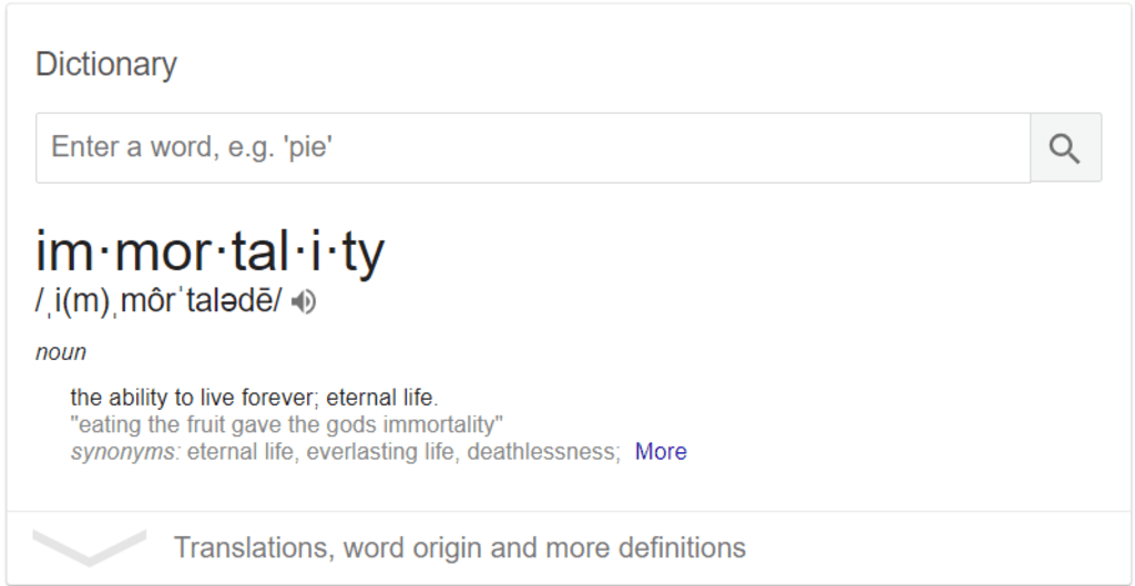Do Human Beings Deserve Immortality?
