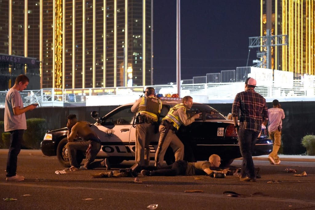 Death Toll Rises in Las Vegas Strip Massacre; Previously Unknown Details About Gunman Emerge