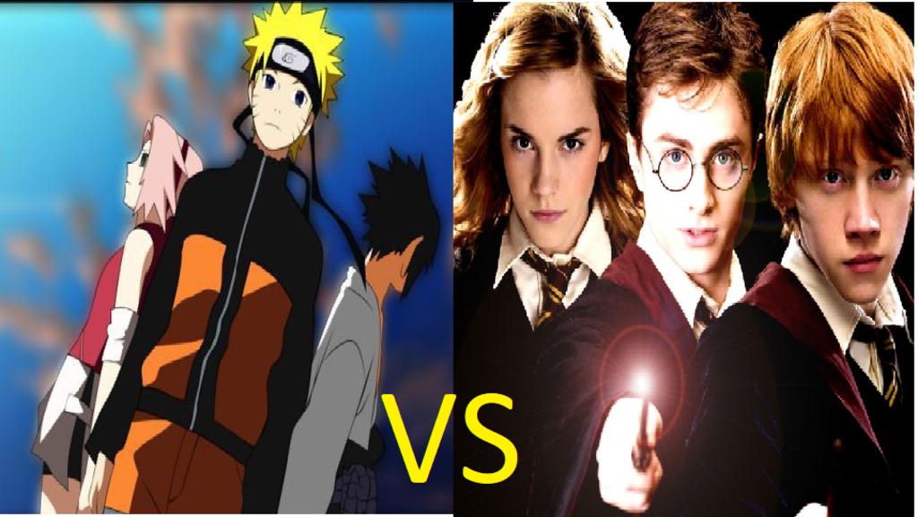 Harry Potter vs Naruto