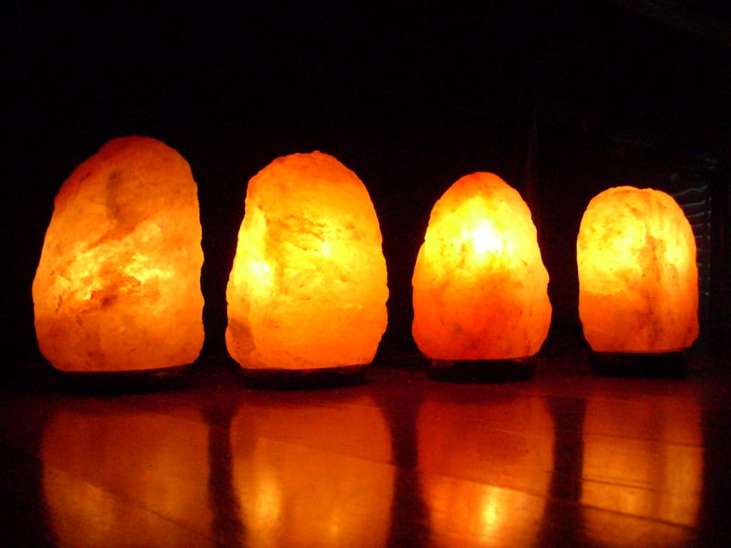 Himalayan Salt Lamps for the Body and Mind