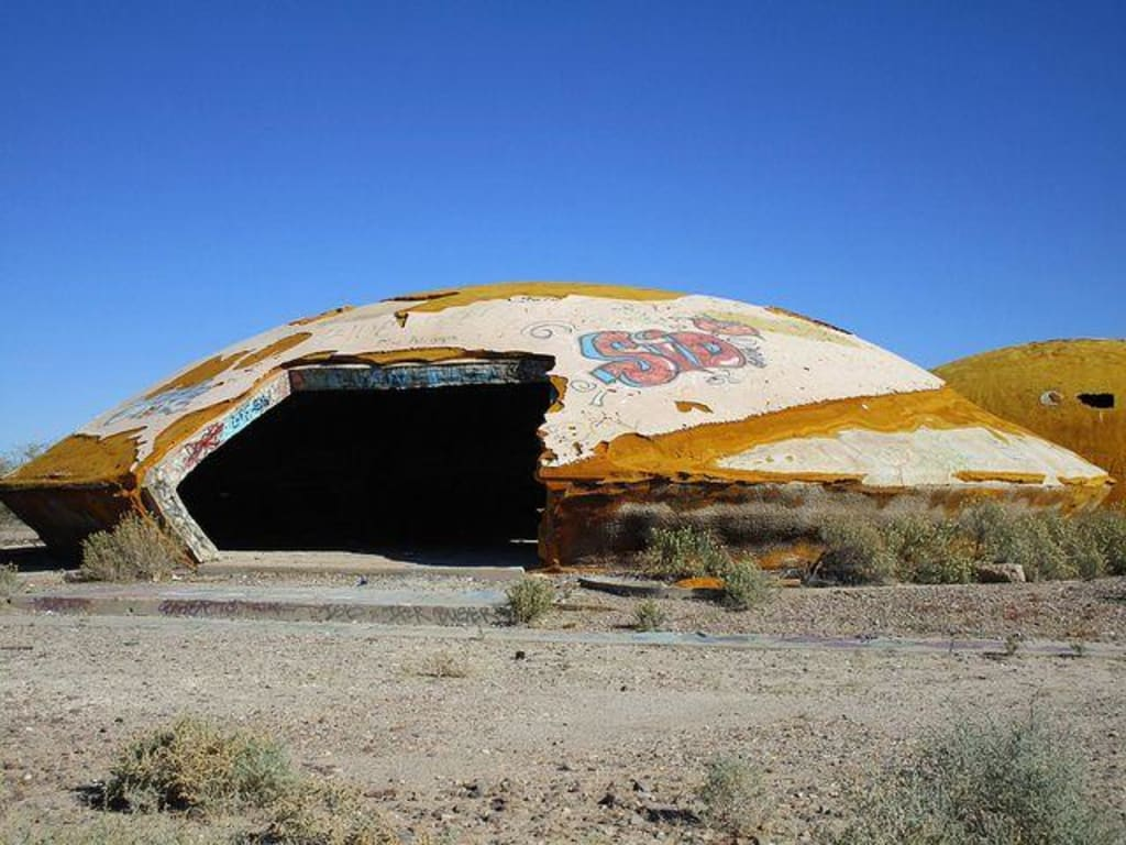 The Mystery of the Casa Grande Domes