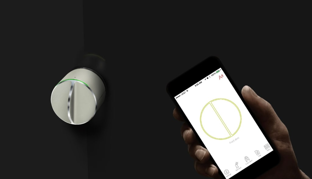Control Your Door with Your Phone and Watch It Automatically Open for You with the Danalock Smart Lock