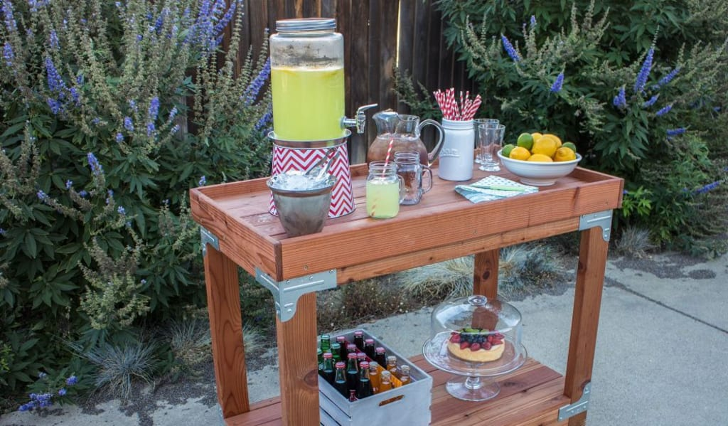 Amazing DIY Bar Setups That Are Easy To Build