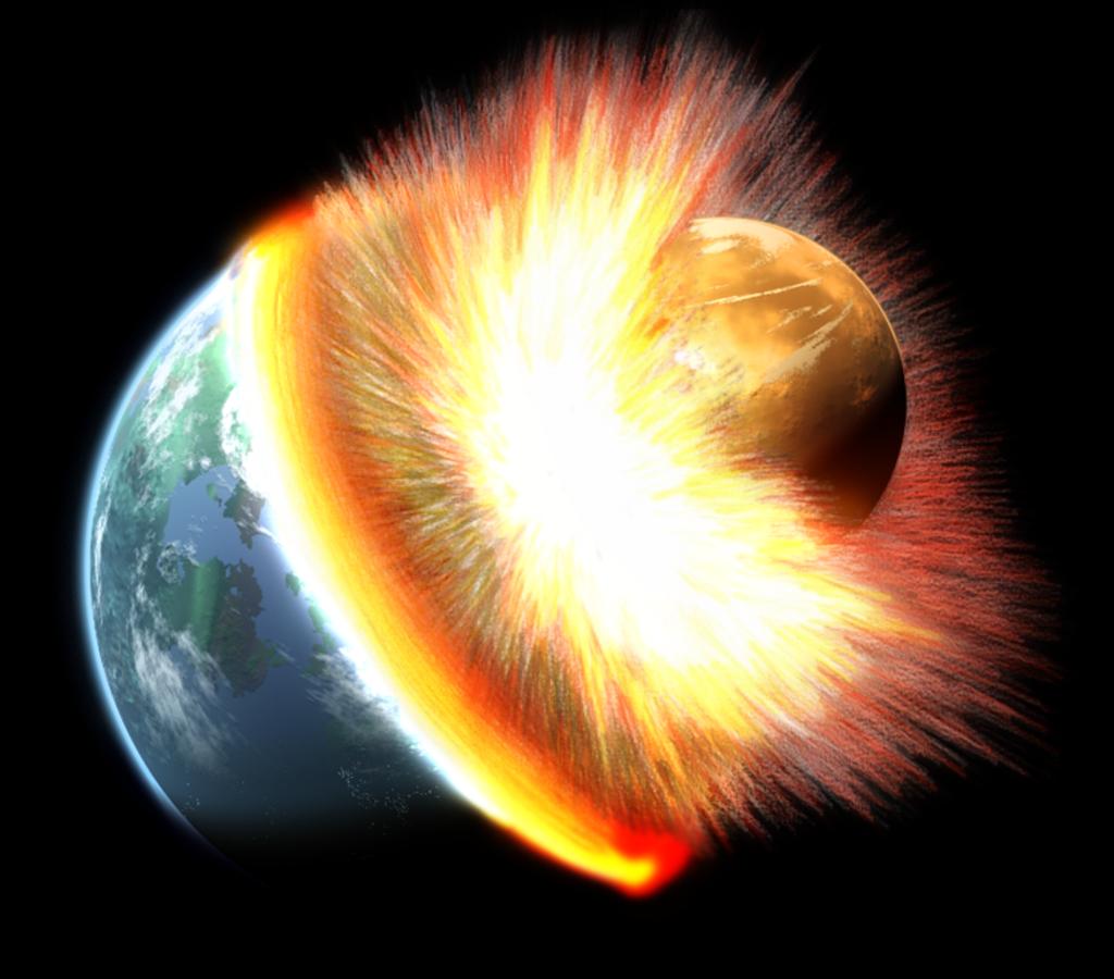 Celestial Astronomy Giant Impact Hypothesis