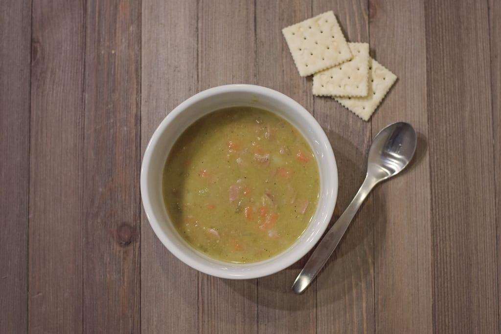 The BEST EVER Split Pea Soup!