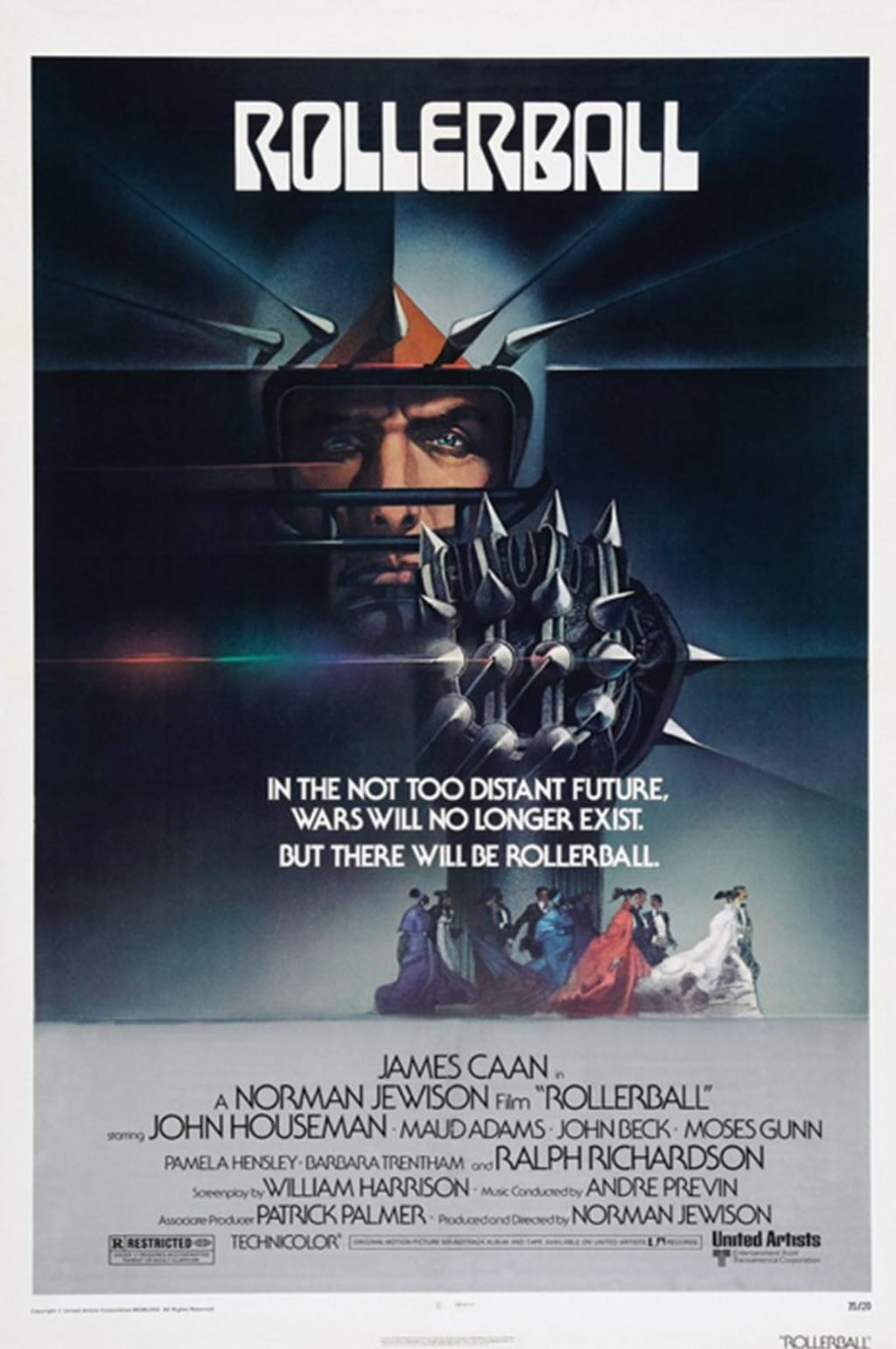 The Science Fiction of Rollerball Is Nothing Compared to the Facts of Real Life Control