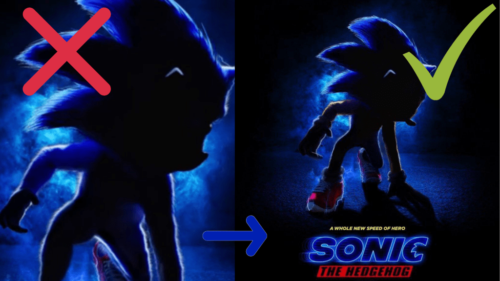 The Sonic Movie. Could a Toon Design Actually Work in Live-Action?
