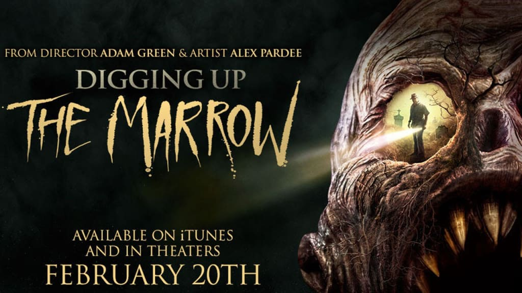 Reed Alexander's Review of 'Digging Up The Marrow (2014)'