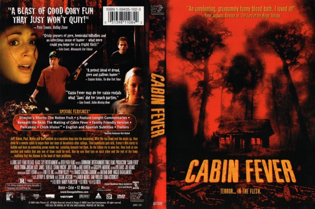 Reed Alexander's Horror Review of 'Cabin Fever (2002)'