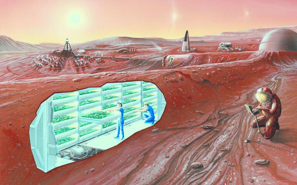 Top Space Colonization Books