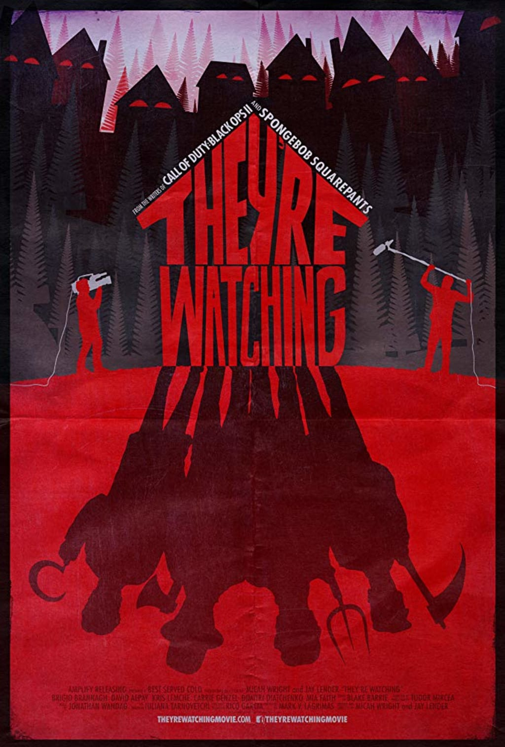Reed Alexander's Horror Review of 'They're Watching' (2016)