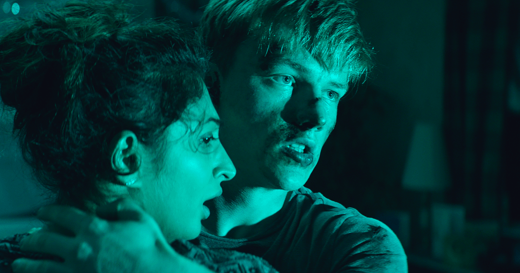 "Upcoming ""Bloody"" and ""Claustrophobic"" Horror Movie 'Await Further Instructions' Will Leave You Breathless"