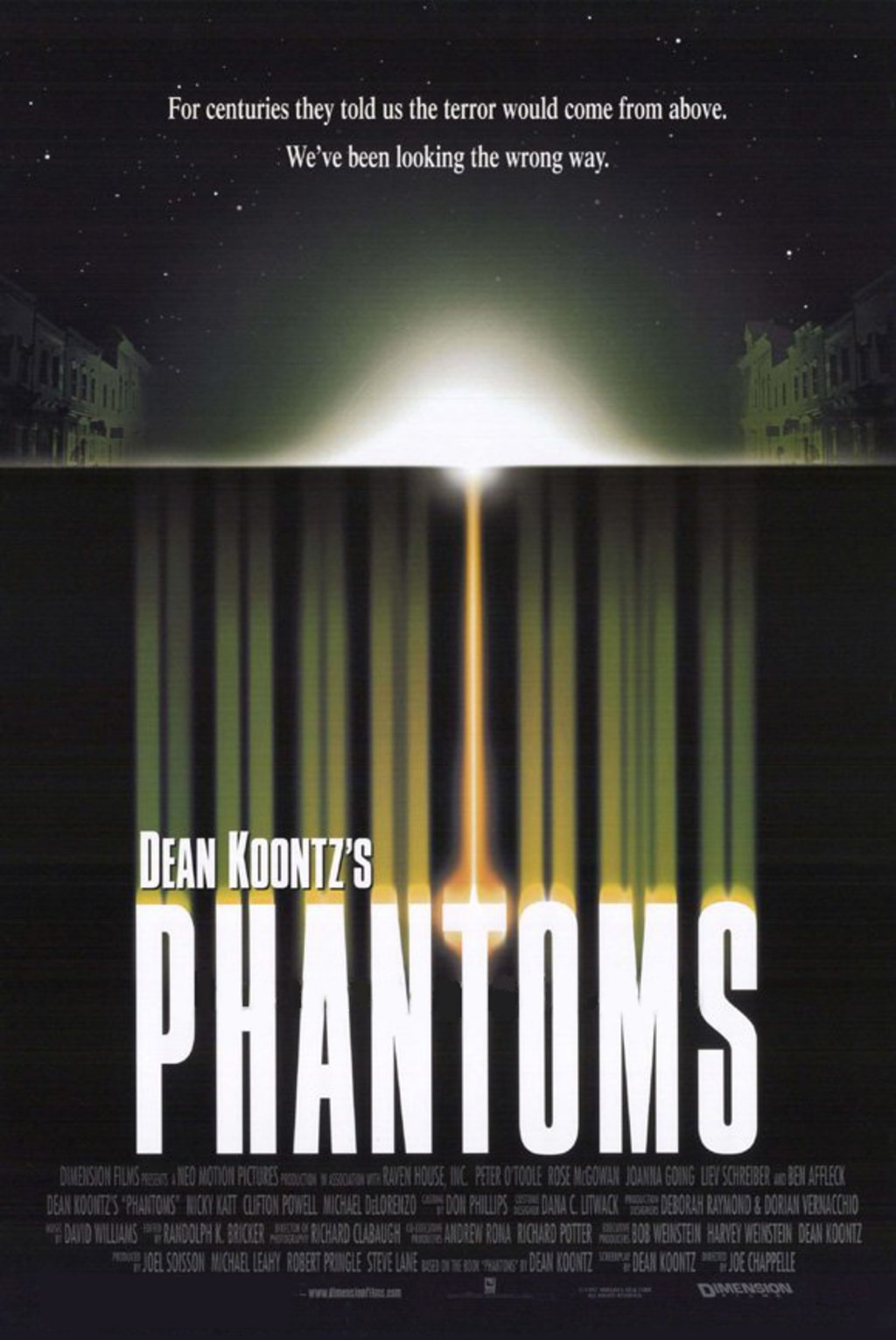 Reed Alexander's Horror Review of 'Phantoms' (1998)