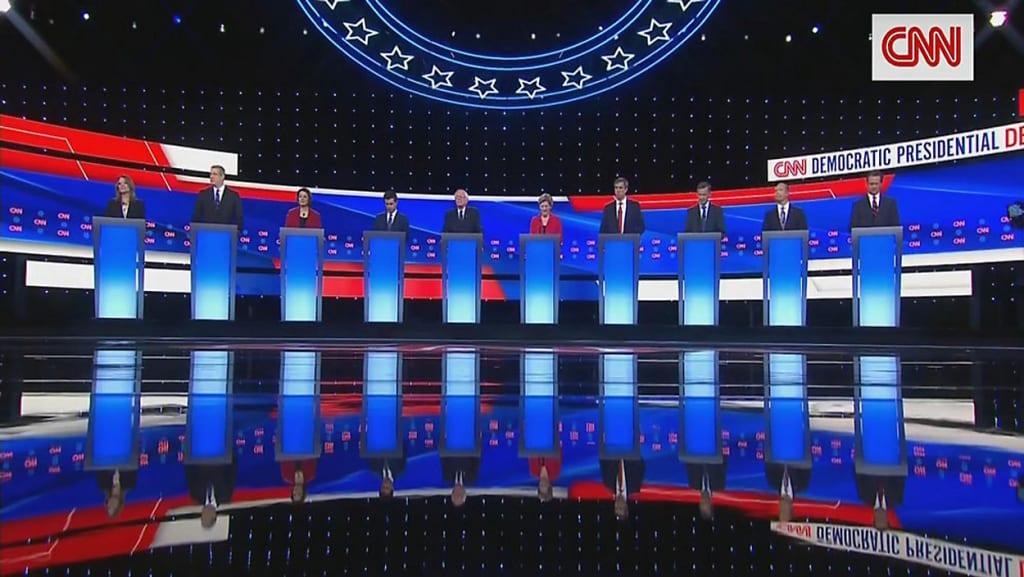Second 2020 Democratic Presidential Debate, Part 1 of 2