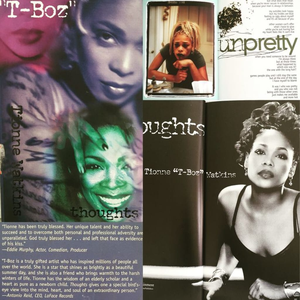 """Review of """"Thoughts"""" by Tionne """"T-Boz"""" Watkins"""