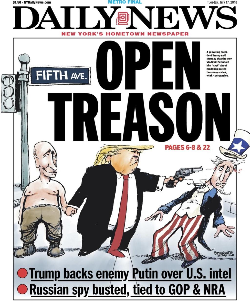 Open Letter to Treasonous Trump