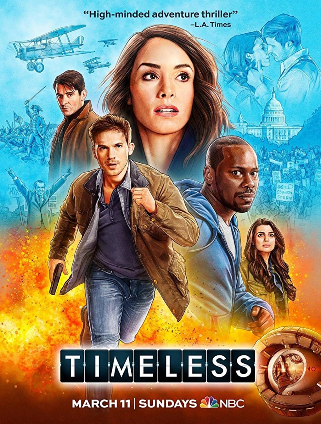 Review of 'Timeless' 2.7