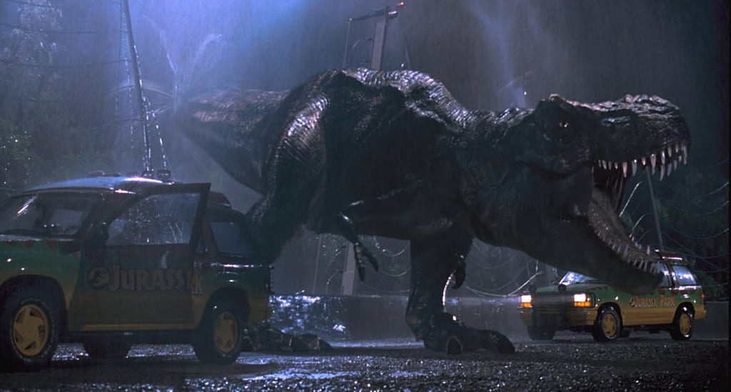 Artist Mashes Classic 'Jurassic Park' Scenes With Characters From '90s Sitcom 'Dinosaurs'