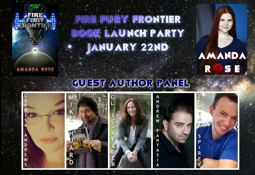 The Sci-Fi 2019 Book Launch Party You Do Not Want to Miss!
