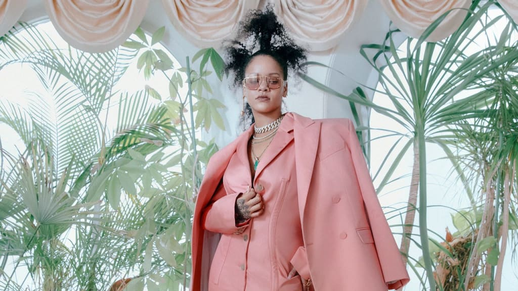 """I Love Being Black""; Rihanna on Fenty First-Look and Fashion as a Woman of Color"