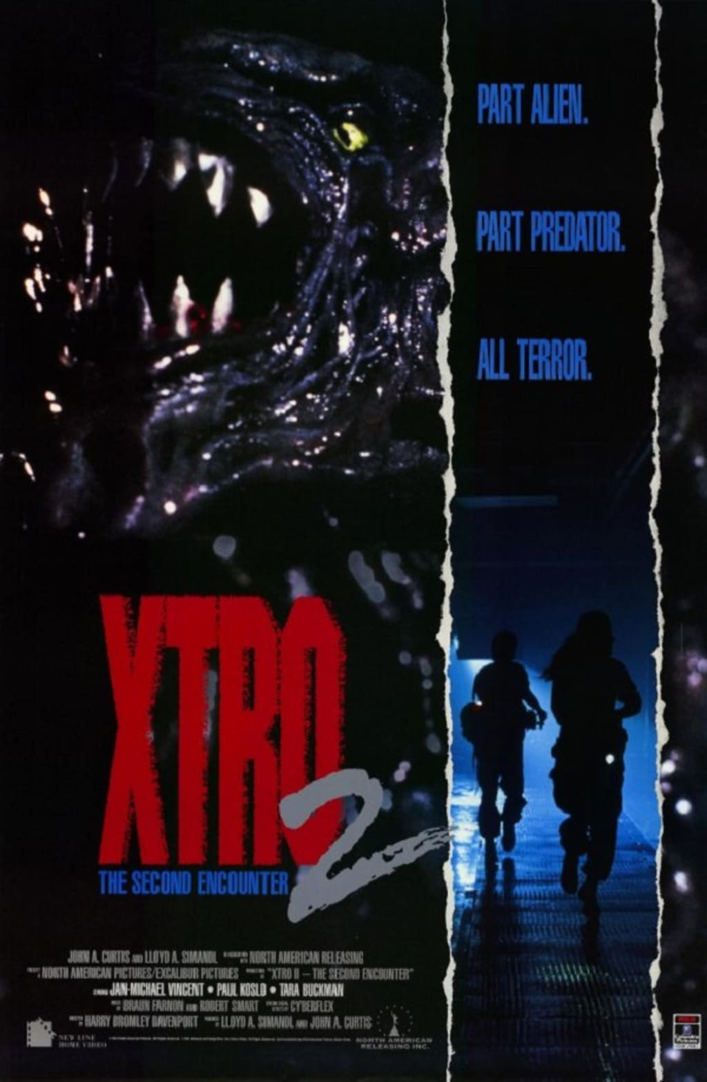 Reed Alexander's Horror Review of 'Xtro 2: The Second Encounter' (1990)