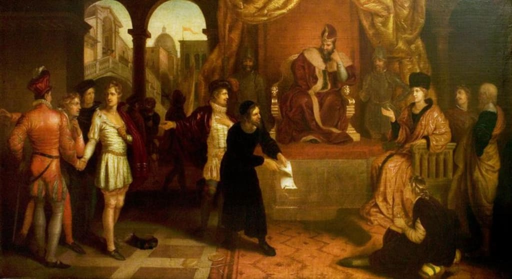 Homosexual Themes in 'The Merchant of Venice'