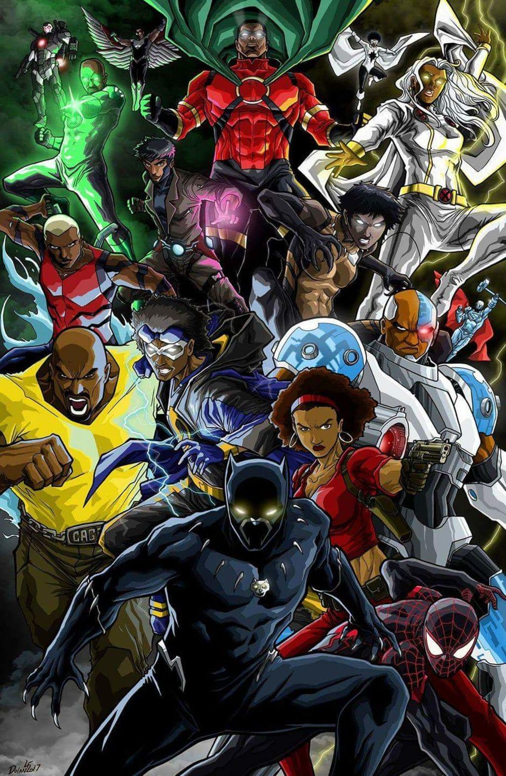 10 Black Superheroes That Deserve a Solo Film