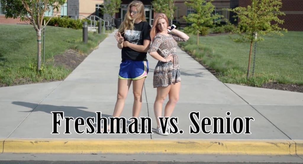 From Senior to Freshman