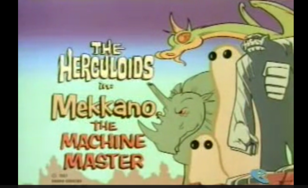 'The Herculoids' - Hanna-Barbera's 'Lost' Hit Animated Show