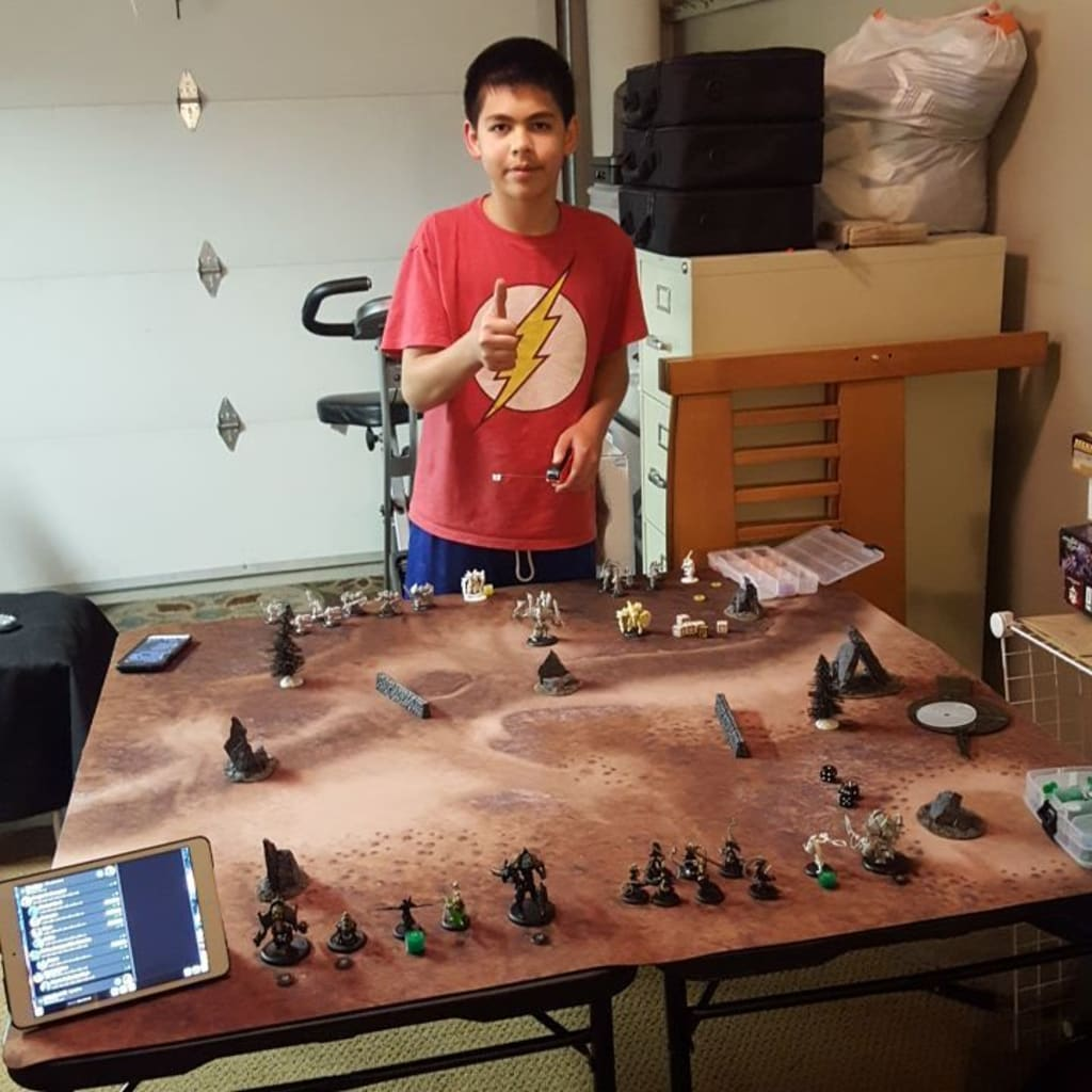 Wargaming with the Kid