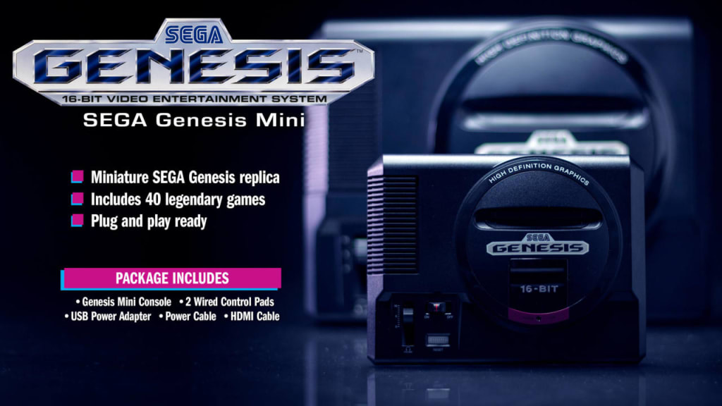 Sega Genesis Mini Update