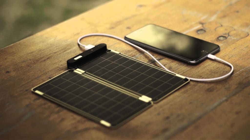 I Started Charging My Phone on the Go the Green Way with Solar Paper