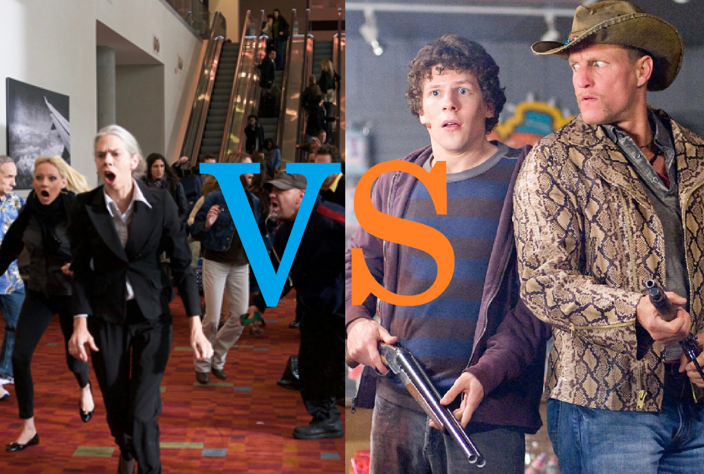 Comparison: 'Cell' vs. 'Zombieland'