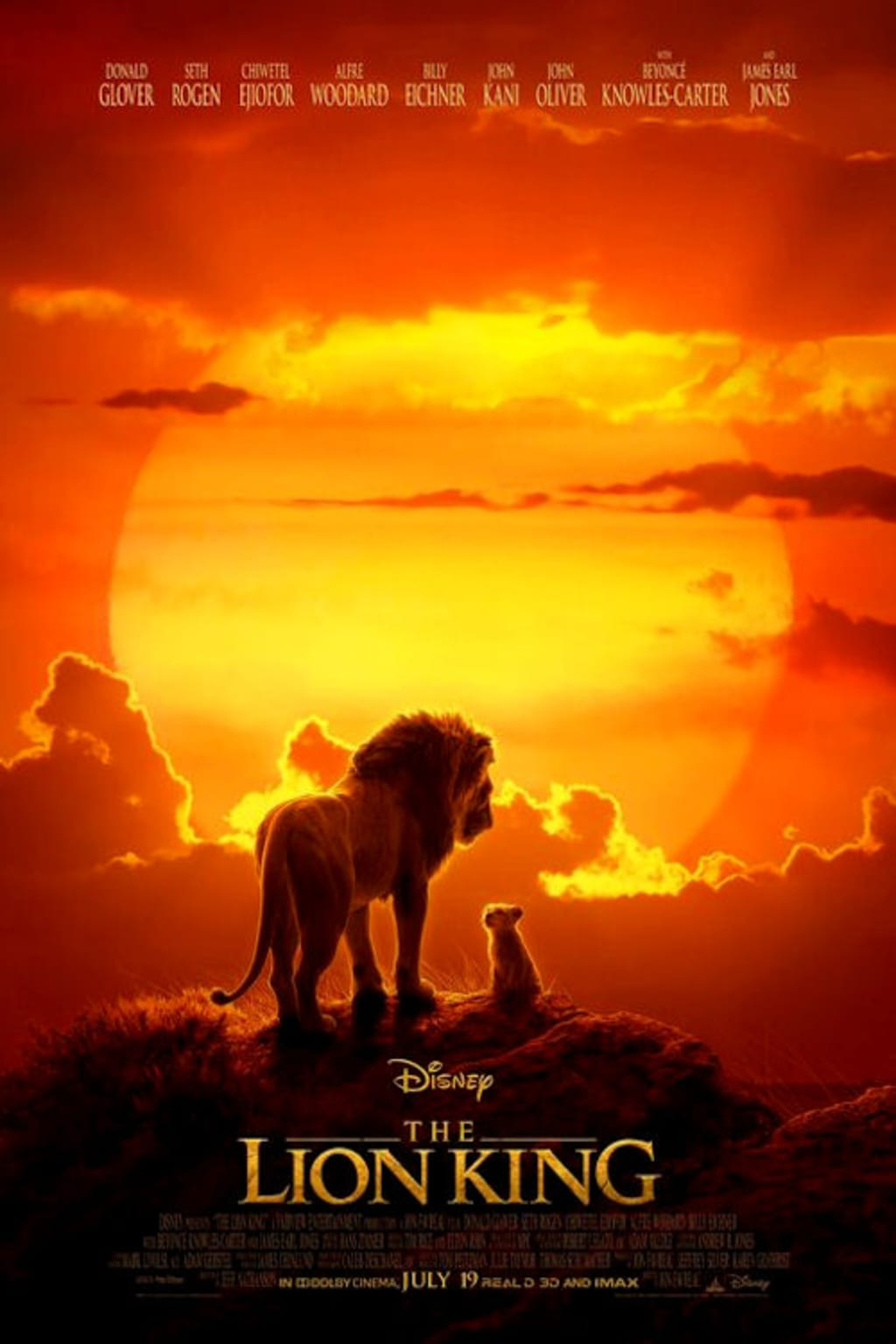 Anthony's Film Review - 'The Lion King' (2019)