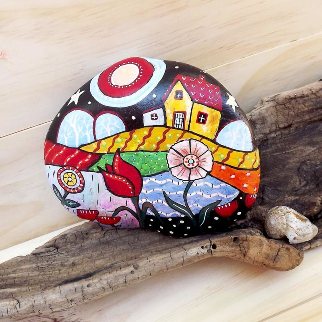 Rock Painting: A Cure for the Soul
