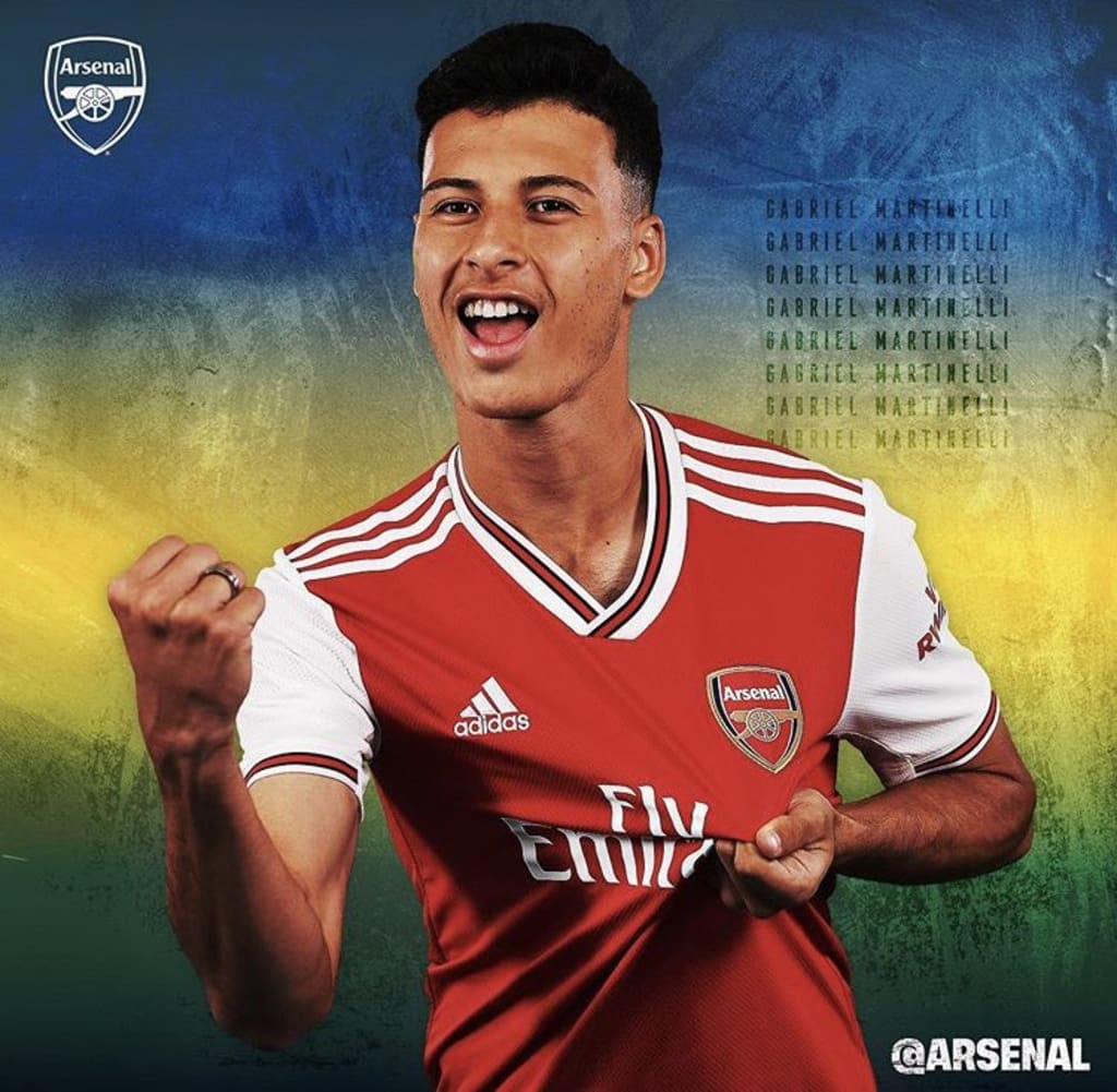 Arsenal New Signing: Gabriel Martinelli