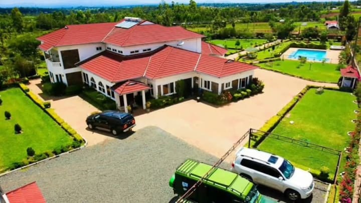 Esther Akothee house