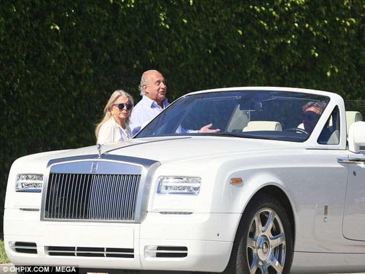How Sir Philip Green And Tina Green Spent $1.3 Billion Dollars