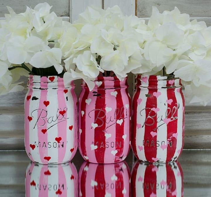 Easy Diy Valentine S Day Mason Jar Gift Ideas