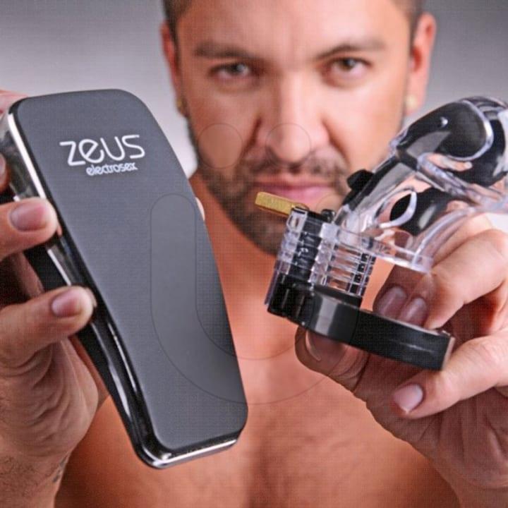 remote shock chastity belt anus