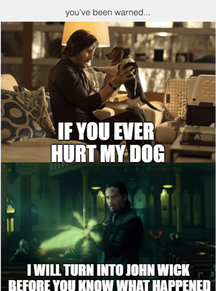 John Wick Chapter 3 Parabellum Breaks The Internet