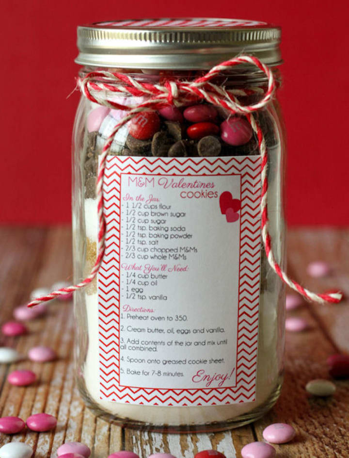 Easy Diy Valentine S Day Mason Jar Gift Ideas