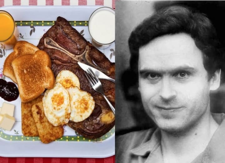 the last meals of famous killers