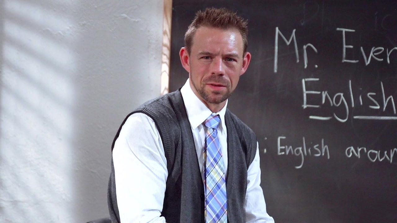 Consider, White shirt male porn speaking