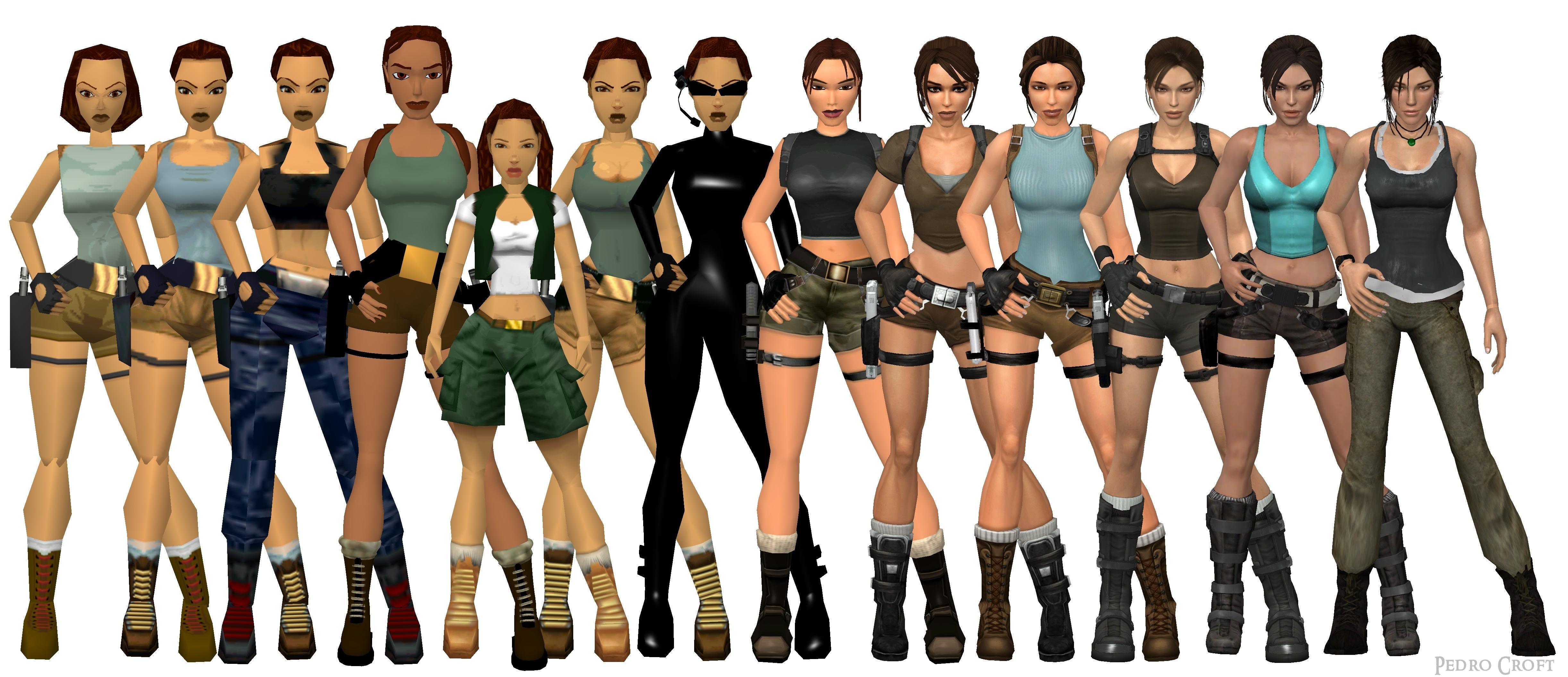 Tomb Raider Classic Vs Reboot