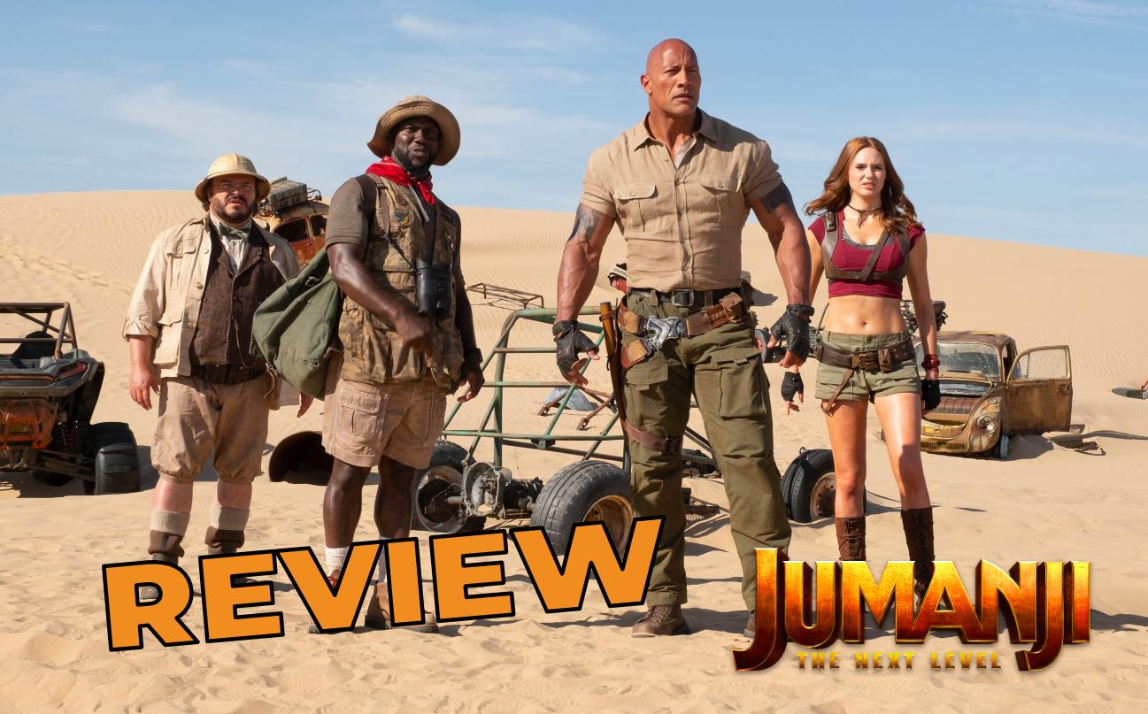 Jumanji The Next Level Review Effortlessly Entertaining