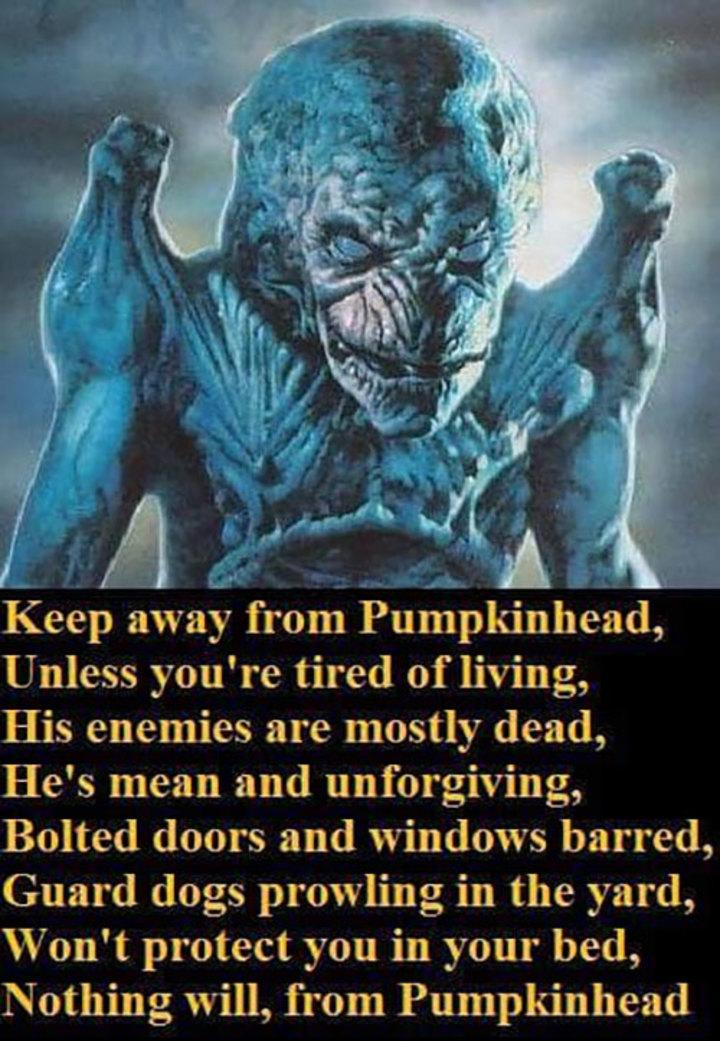 Resultado de imagen de pumpkinhead 1988 gifs