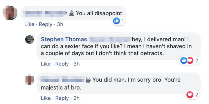 A Guy Asked People on Facebook to Send Him Nudes the